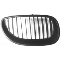Grille screen right front BMW 5 Series E60 E61 2003 to 2007 black Lucana Bumper and accessories