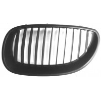 Grille screen left front BMW 5 Series E60 E61 2003 to 2007 black Lucana Bumper and accessories