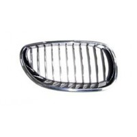Grille screen right front BMW 5 Series E60 E61 2007 to 2009 chrome Lucana Bumper and accessories