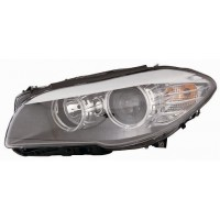 Headlight left front headlight bmw 5 series F10 F11 2010 onwards halogen eco Lucana Headlights and Lights