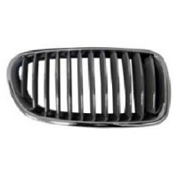 Grille screen right front bmw 5 series F10 F11 2010 2013 glossy black Lucana Bumper and accessories
