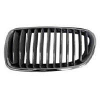Grille screen left front bmw 5 series F10 F11 2010 2013 glossy black Lucana Bumper and accessories
