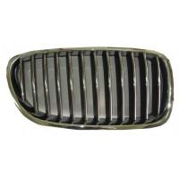 Mascherina griglia anteriore destra bmw serie 5 f10 f11 2010 al 2013 cromata nera Lucana Bumper and accessories