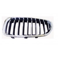 Grille screen left front bmw 5 series F10 F11 2013 onwards chrome Black Chrome Lucana Bumper and accessories