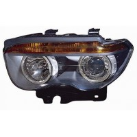 Headlight right front headlight bmw 7 series E65 E66 2001 to 2005 halogen eco black Lucana Headlights and Lights