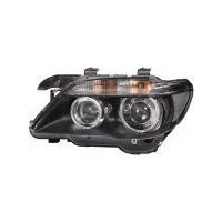 Headlight right front headlight bmw 7 series E65 E66 2005 to 2008 Bi Xenon hella Headlights and Lights