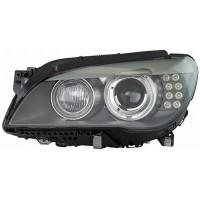Headlight left front headlight bmw 7 series F01 F02 2009 onwards Bi Xenon AFS hella Headlights and Lights