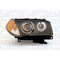 Headlight right front headlight BMW X3 E83 2006 to 2010 xenon orange D2S marelli Headlights and Lights