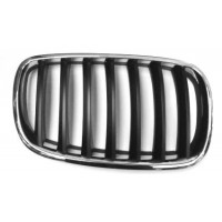 Grille screen front right BMW X5 E70 2007 to 2010 x6 E71 2008 onwards Black Chrome Lucana Bumper and accessories