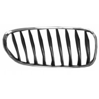 Grille screen right front BMW Z4 E85 E86 2003 onwards Black Chrome Lucana Bumper and accessories