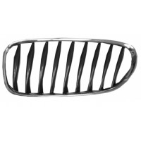 Grille screen left front BMW Z4 E85 E86 2003 onwards Black Chrome Lucana Bumper and accessories