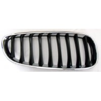 Grille screen right front BMW Z4 and89 2009 onwards Black Chrome Lucana Bumper and accessories