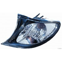 Light arrow left front BMW 3 Series E46 2001 to 2005 crystal black frame Lucana Headlights and Lights
