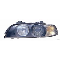 Headlight left front headlight bmw 5 series E39 1995 to 2000 White arrow HB4/HB3 Lucana Headlights and Lights