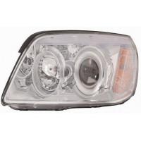 Headlight right front headlight Chevrolet Captiva 2006 onwards chrome Lucana Headlights and Lights