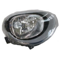 Headlight left front headlight for Fiat 500x 2014 onwards parable eco black Lucana Headlights and Lights