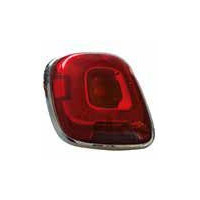 Lamp LH rear light for Fiat 500x 2014 onwards with satin frame Lucana Headlights and Lights