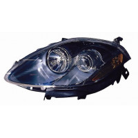 Headlight right front headlight for Fiat Bravo croma 2007 onwards parable black Lucana Headlights and Lights
