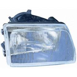 Headlight right front headlight for Fiat Cinquecento 1992 to 1998 manual black Lucana Headlights and Lights