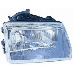 Headlight left front headlight for Fiat Cinquecento 1992 to 1998 hydraulic black Lucana Headlights and Lights