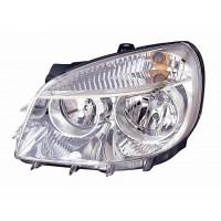 Headlight left front headlight for Fiat Doblo 2005 to 2008 Lucana Headlights and Lights