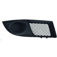 Right grille front bumper for Fiat Doblo 2005 onwards without fog hole Lucana Bumper and accessories