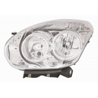 Headlight left front headlight for Fiat Doblo 2009 onwards opel combo 2012 onwards Lucana Headlights and Lights