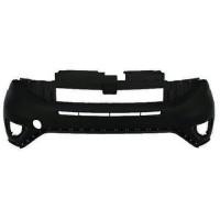 The front bumper upper for Fiat Doblo 2015 onwards black Lucana Paraurti ed accessori
