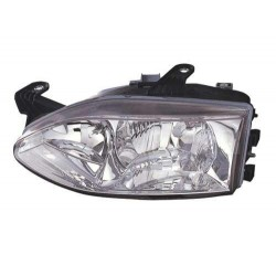 Headlight right front headlight for Fiat Palio road 1997 to 2001 smooth glass Lucana Headlights and Lights
