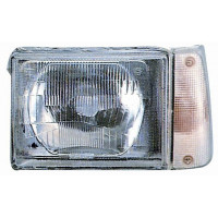 Headlight left front headlight for fiat panda 1986 to 2002 Electric White Lucana Headlights and Lights