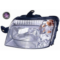 Headlight left front headlight for fiat panda 2009 to 2011 purple pin 7 pin Lucana Headlights and Lights