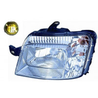 Headlight left front headlight for fiat panda 2003 to 2009 White plug 7 pin Lucana Headlights and Lights
