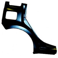 Right rear fender for fiat panda 2003 onwards with sill Lucana Plates and Frameworks