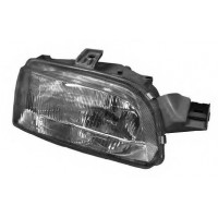 Headlight right front headlight for Fiat Punto 1993 to 1999 GTI black dish Lucana Headlights and Lights