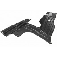 Carter protection right motor for Fiat Sedici 2006 onwards Lucana Bumper and accessories