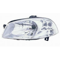 Headlight right front headlight for Fiat road 2011 onwards chrome parable working Lucana Fari e fanaleria