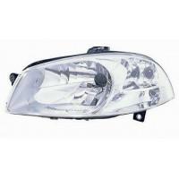 Headlight left front headlight for Fiat road 2011 onwards chrome parable working Lucana Fari e fanaleria