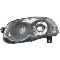Headlight left front headlight for Fiat road 2011 onwards black parable trekking Lucana Fari e fanaleria