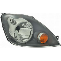 Headlight right front headlight for ford fiesta 2006 to 2008 without dimmer Lucana Headlights and Lights