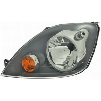 Headlight left front headlight for ford fiesta 2006 to 2008 without dimmer Lucana Headlights and Lights