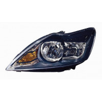 Headlight left front headlight for Ford Focus 2007 to 2010 all black Lucana Headlights and Lights