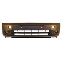 Front bumper for Ford Tourneo connect 2006 onwards black with fog holes Lucana Bumper and accessories