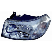 Headlight left front headlight for Ford Transit 2000 to 2003 chrome parable Lucana Headlights and Lights