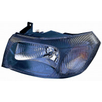 Headlight left front headlight for Ford Transit 2000 to 2003 black dish Lucana Headlights and Lights