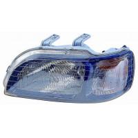Headlight right front headlight Honda Civic 1995 to 1997 5p SW black dish Lucana Headlights and Lights