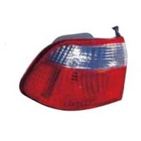 Lamp LH rear light Honda Civic 1999 to 2001 4 doors Lucana Headlights and Lights