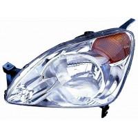 Headlight left front headlight Honda CR-V 2002 to 2004 orange Lucana Headlights and Lights
