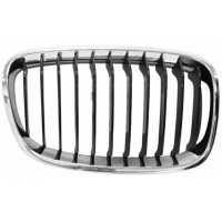 Grille screen right front for BMW 1 SERIES F20 F21 2011 onwards urban chrome and black Lucana Bumper and accessories