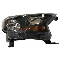 Headlight right front headlight for Ford ranger 2015 onwards parable black Lucana Headlights and lights