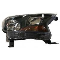 Headlight left front headlight for Ford ranger 2015 onwards parable black Lucana Headlights and lights